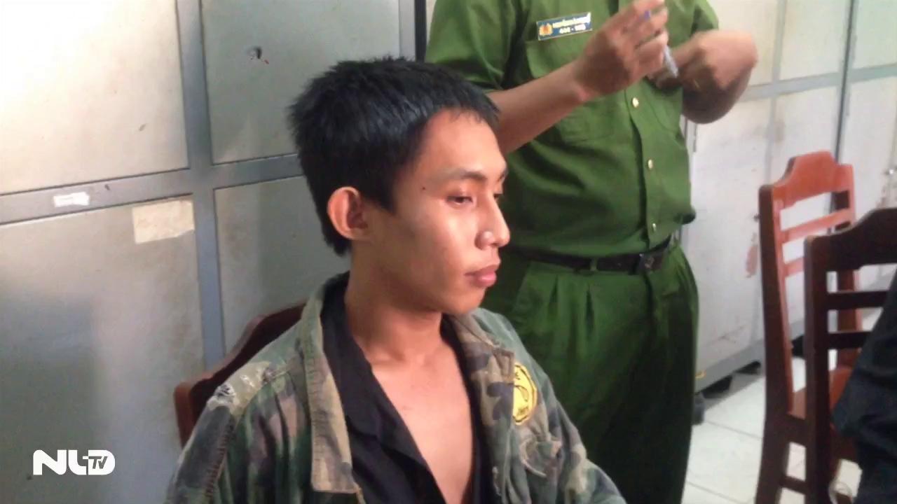 """CGST truy đuổi hơn 120 km bắt thanh niên """"ngáo đá"""" cướp taxi"""