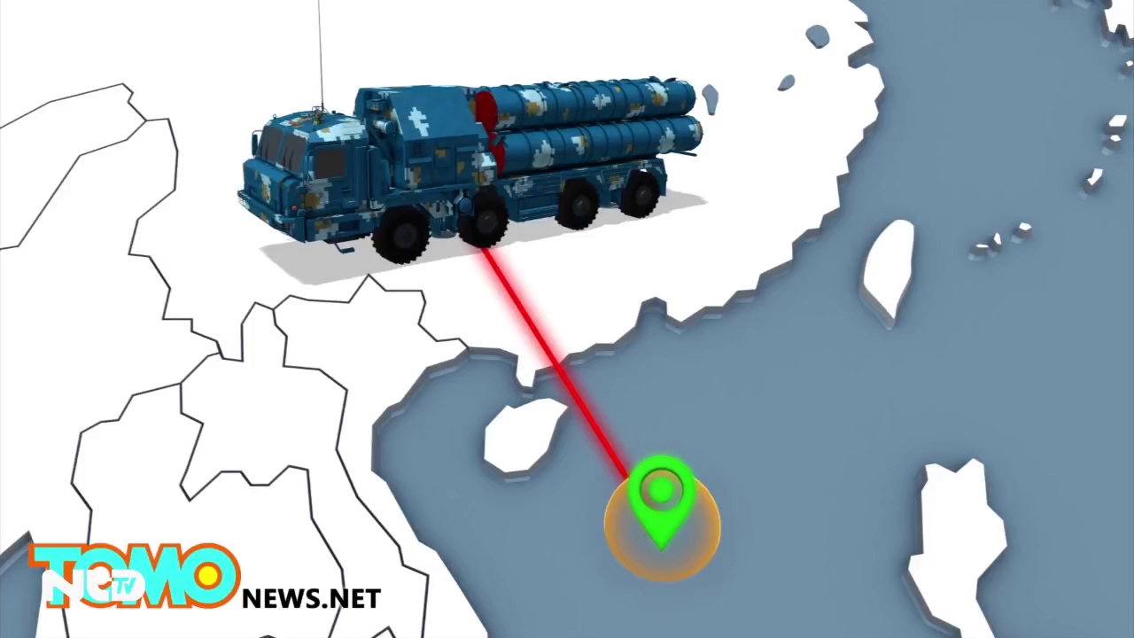 Trung Quốc ngang nhiên khoe tên lửa chống hạm trên đảo Phú Lâm