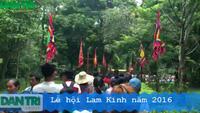Lễ hội Lam Kinh năm 2016