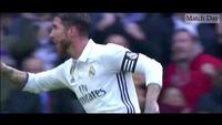 Cú đúp bàn thắng của Sergio Ramos trong trận gặp Malaga