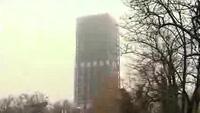 Xem Đức phá hủy tòa nhà chọc trời 116m trong tích tắc