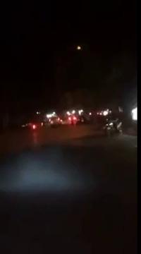 Bị truy đuổi,  lái xe ô tô liều lĩnh ép ngã xe CSCĐ