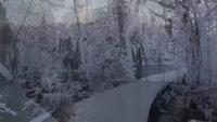 Lặng người trước vẻ đẹp mê hồn của thác nước đóng băng