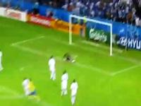 10 bàn thắng đẹp của Ibrahimovic: Số 6 vs Hi Lạp