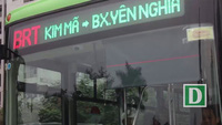 Người Hà Nội dần quen với bus nhanh BRT