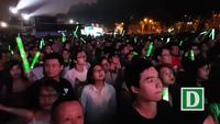 Tùng Dương trình diễn tại Lễ hội âm nhạc quốc tế Gió mùa.
