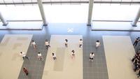 Màn nhảy tập thể của học sinh trường Ams