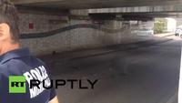 Cảnh sát phong tỏa hiện trường vụ bắt cóc con tin trong nhà thờ ở Pháp