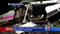 Tàu điện đâm vào nhà ga ở Mỹ, 3 người chết, hơn 100 người bị thương (Video: CBS)