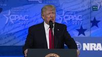 Tổng thống Trump phát biểu tại Hội nghị Hành động Chính trị Bảo thủ