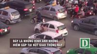 """Kiểu sang đường """" tự đâm đầu vào rắc rối"""" ở Hà Nội"""