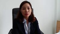 Bà Vũ Thị Thanh Liễu - Phó GĐ TT DVVL Hà Nội đánh giá về hoạt động của Sàn GDVL.