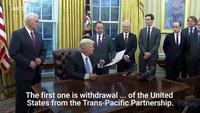 Ông Trump chính thức thông qua sắc lệnh rút khỏi TPP