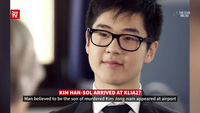 """Con trai ông Kim Jong-nam """"biến mất"""" trước ống kính truyền thông"""