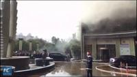 Cháy khách sạn Trung Quốc, ít nhất 10 người chết