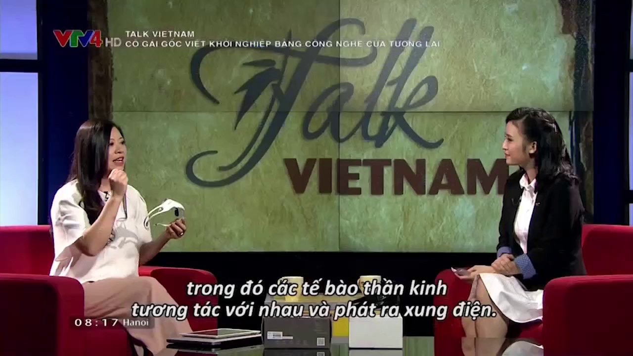 Talk Vietnam: Vietnamese girl startups with technology of the future