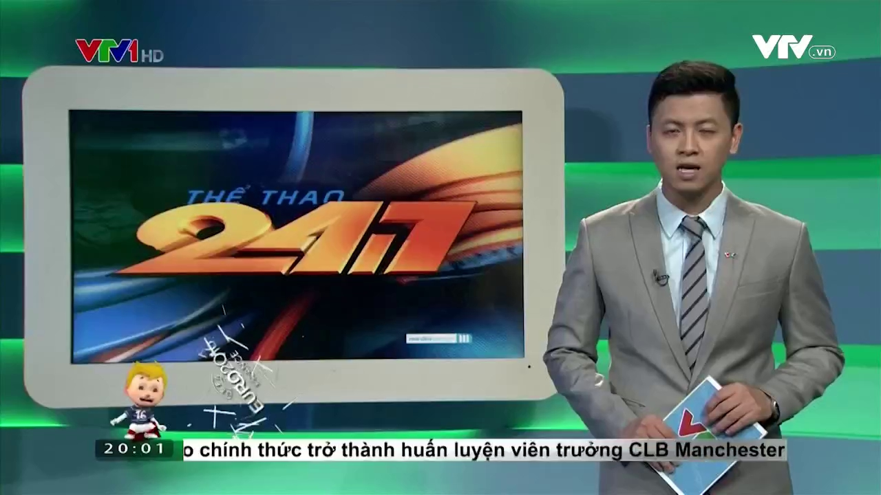 Thể thao 24/7 - 27/5/2016
