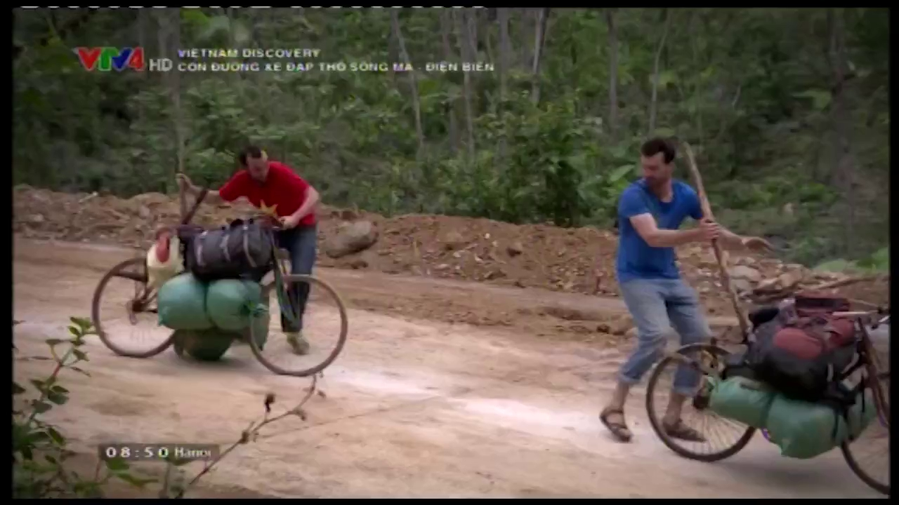 Vietnam Discovery: The road of cargo-loading bicycle from Ma River to Dien Bien - Espisode 1