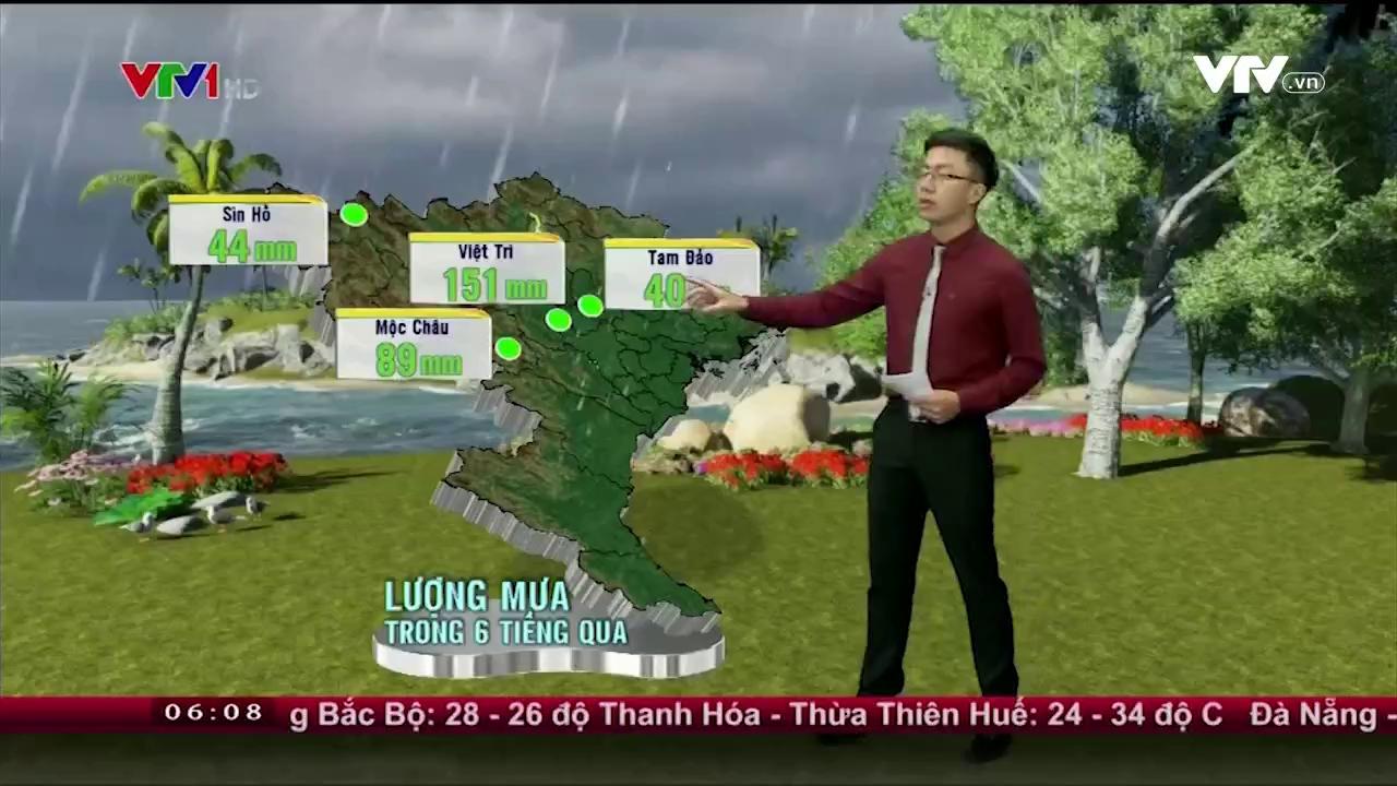 Bản tin thời tiết 6h10 - 26/5/2016