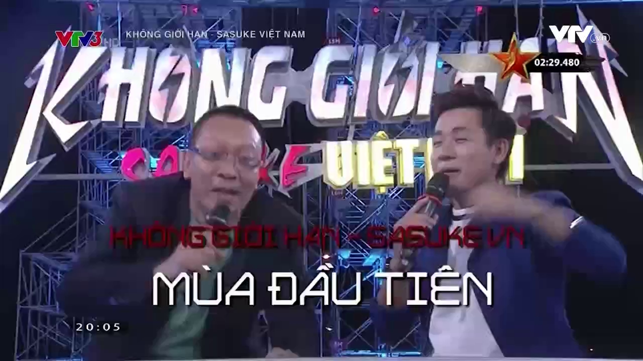 Không giới hạn - Sasuke Việt Nam - 26/5/2016