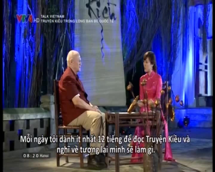 Talk Vietnam: The Tale of Kieu in the heart of international friends