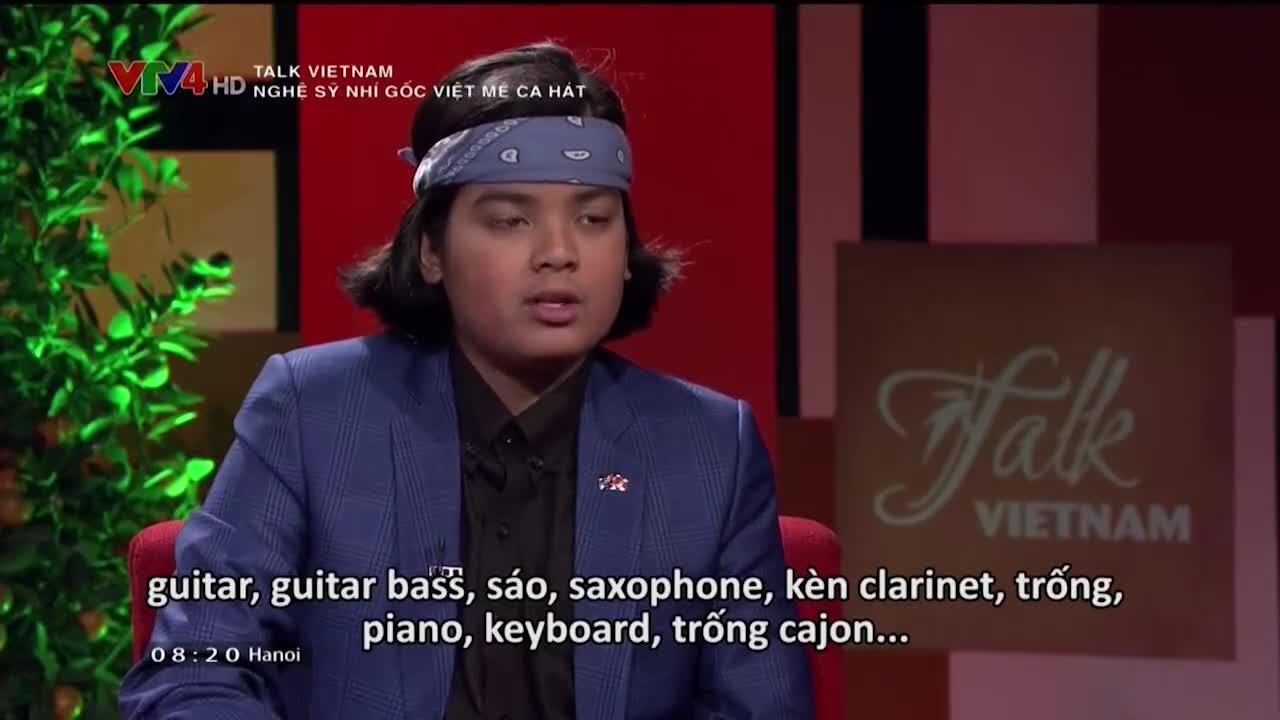 Talk Vietnam: Vietnamese original chatter artist loves singing