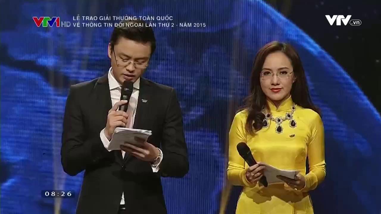 Lễ trao giải thưởng Thông tin Đối ngoại lần thứ 2 năm 2015