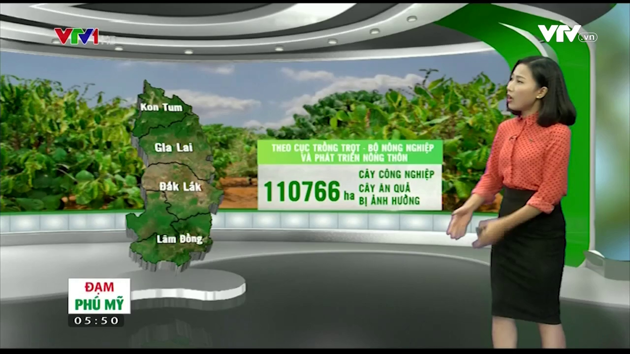 Bản tin thời tiết nông vụ - 30/52016