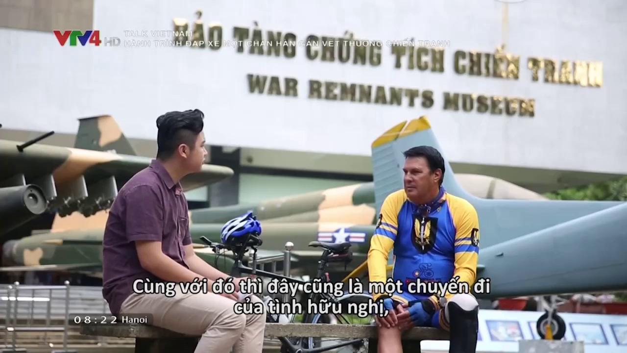Talk Vietnam: The journey of one-leg-biking to heal wounds of war