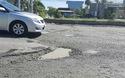 Hiện trường đoạn đường dễ gây tai nạn.