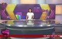 Á hậu Tú Anh lần đầu lên sóng truyền hình quốc gia ở vai trò MC. (Nguồn: VTV).
