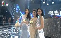 Chiếc váy Đỗ Mỹ Linh mặc trong thời khắc đăng quang bị đem ra so sánh với Huyền My. (Video: Mạnh Thắng, nguồn VTV).