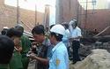 Bình Định: Sập sàn nhà đang thi công, 7 người thương vong