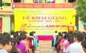Video: Tổng Liên đoàn Lao động Việt Nam tặng quà cho giáo viên và học sinh Quảng Bình