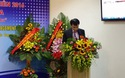 PGS.TS. Phạm Như Hiệp, tân Giám đốc Bệnh viện Trung ương Huế phát biểu khai mạc Hội nghị khoa học quốc tế phòng chống ung thư thường niên 2016