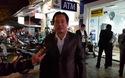 Đại tá Đặng Ngọc Sơn, PGĐ Công an tỉnh Thừa Thiên Huế trao đổi với báo chí