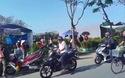 Chợ hoa xuân Huế chiều 30 Tết