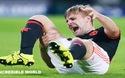 Luke Shaw gãy chân trong trận MU thua PSV