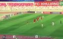 Pha đá phạt siêu dị của U19 Tajikistan vào lưới U19 Trung Quốc