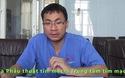 BS.Ths Nguyễn Công Hựu chia sẻ về bệnh tình nguy nan của chị Quảng.