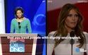 Vợ tỷ phú Trump bị tố đạo bài phát biểu của Đệ nhất phu nhân Michelle