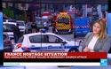 Kênh truyền hình France 24 của Pháp tường thuật về vụ bắt cóc con tin