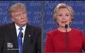 Clinton, Trump liên tục cắt ngang lời nhau trong cuộc tranh luận