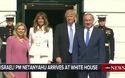 Vợ chồng Tổng thống Trump đón Thủ tướng Israel tới Nhà Trắng