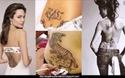 Hình xăm của Angelina Jolie