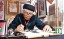 Hà Nội: Các ông đồ khai hội chữ xuân trong hồ Văn