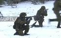 """NATO tập trận """"Gươm thép"""" trong tuyết giá"""