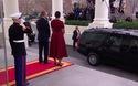 Ông Trump tới Nhà Trắng trước khi tuyên thệ nhậm chức