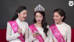 Hashtag cùng Top 3 Hoa Hậu Việt Nam 2016