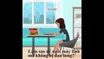 Tư thế ngồi đúng cách để không bị đau lưng cho chị em văn phòng